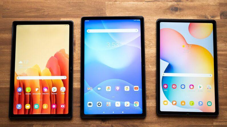 Comparison: Lenovo Tab P11 vs Samsung Galaxy Tab A7 & S6 Lite