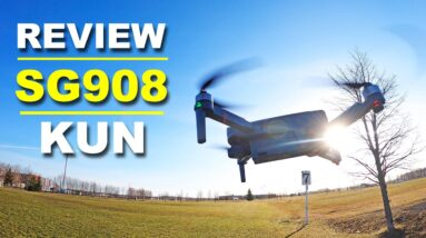 Beginner Budget Friendly Drone - SG908 KUN Drone with 3 axis Camera Gimbal