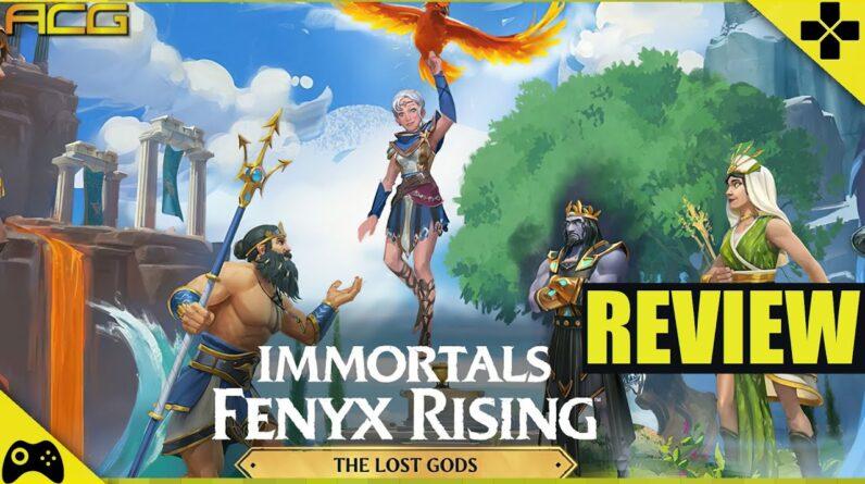 Immortals Fenyx Rising The Lost Gods DLC Review
