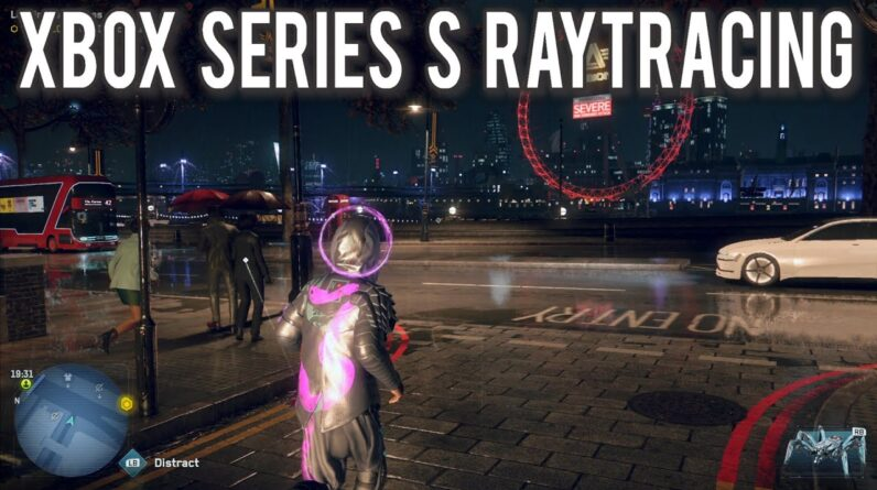 Raytracing on the XBOX Series S is impressive | MVG