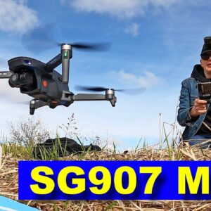 SG907 MAX - Low Cost Drone with BIG Features (3 axis Camera Gimbal) - Review