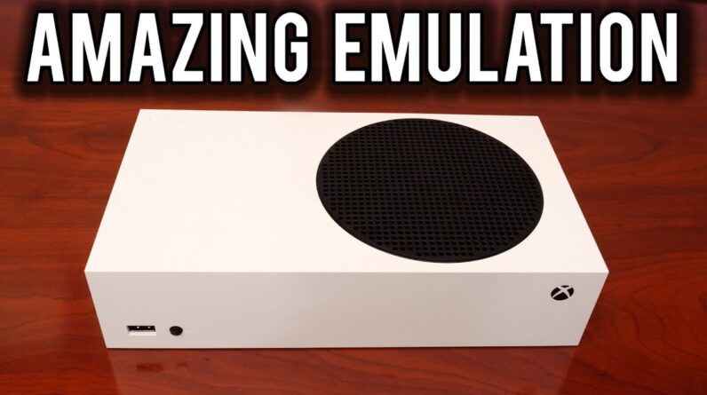 The $299 XBOX Series S is an Emulation Beast | MVG