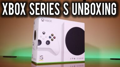 Xbox Series S Unboxing and First Impressions | MVG